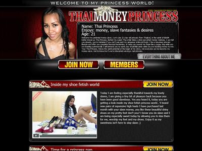 Thai Money Princess