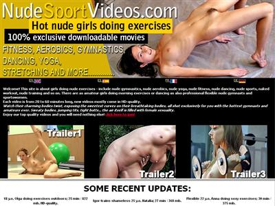 Sport nude movies fucking girl