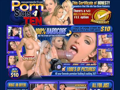 Pornstars 4 Ten